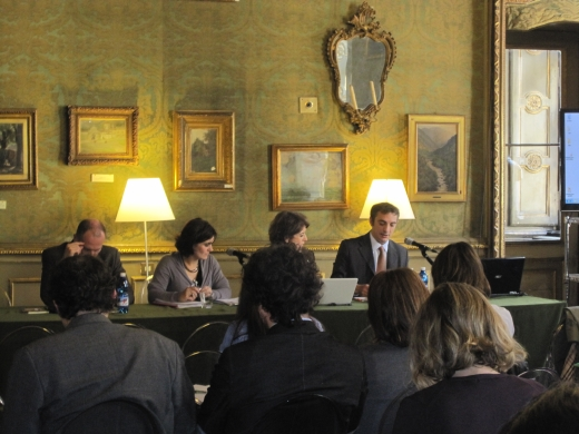 Workshop at Torino, 23 and 24 April 2012